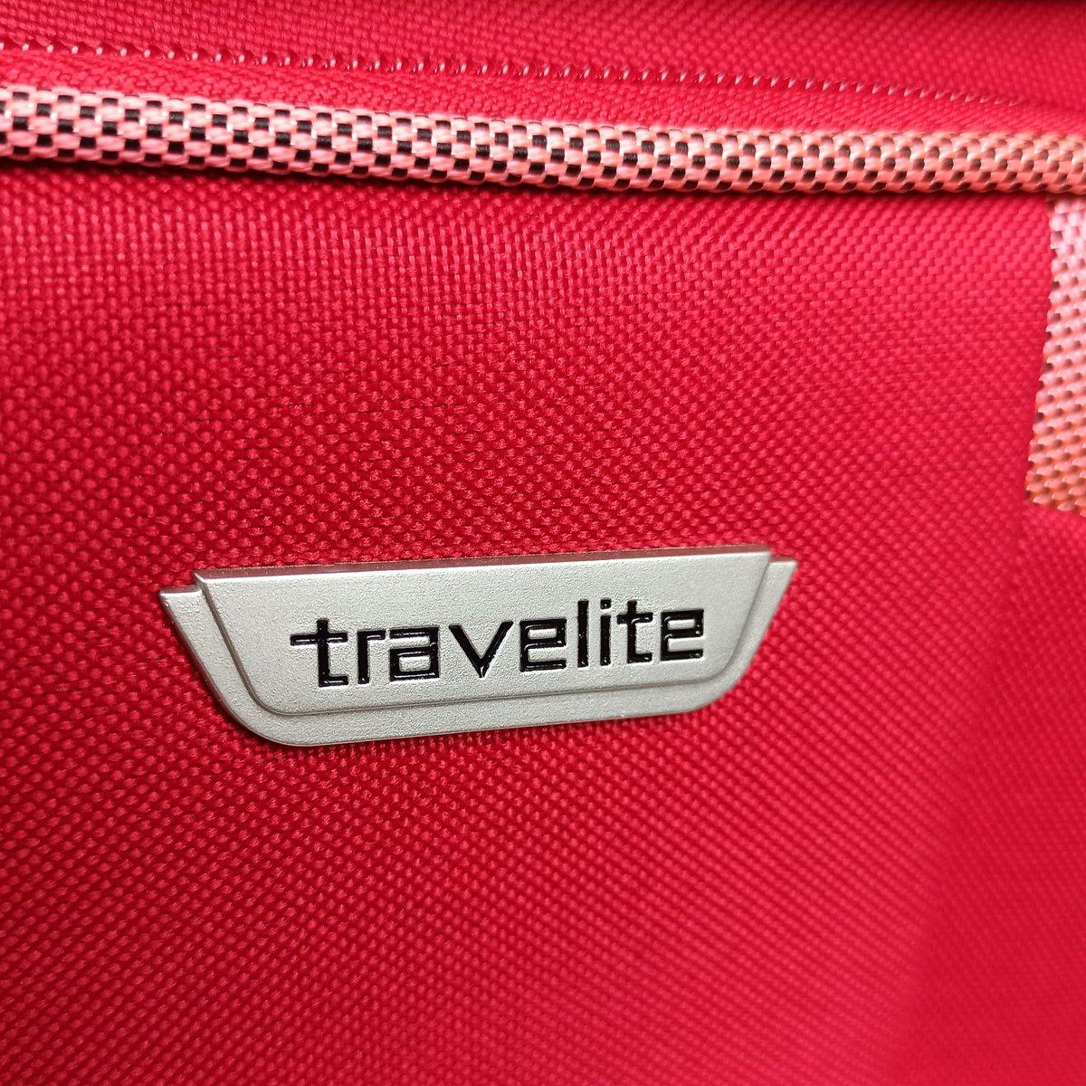 Kuferek / Kosmetyczka Travelite Orlando czerwona