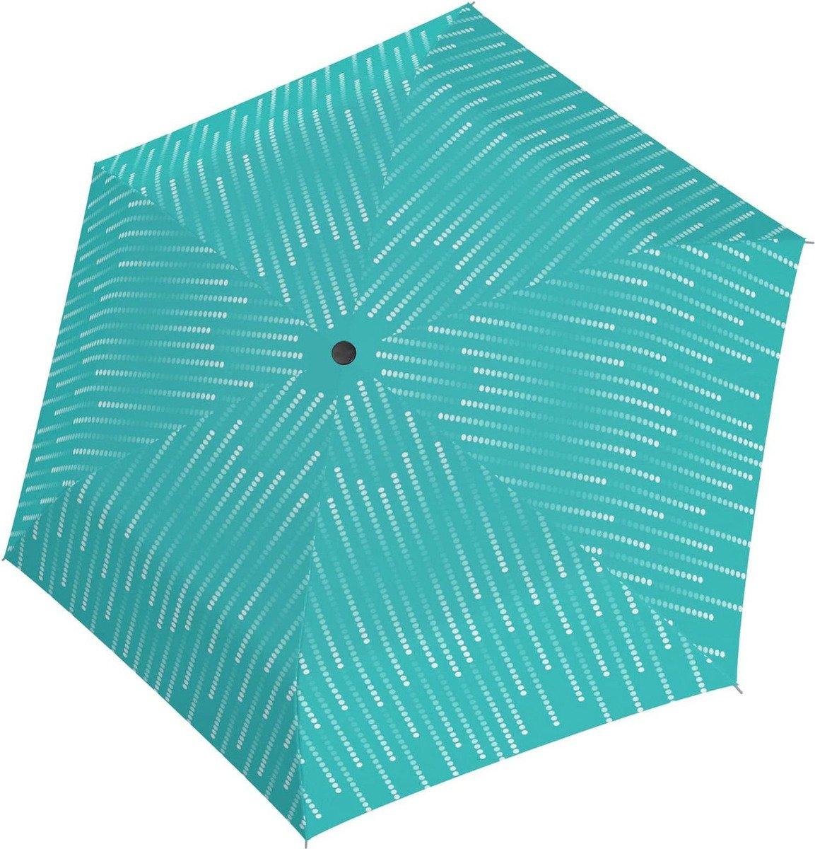 Parasol Fiber Havanna Glamour Doppler turkusowy