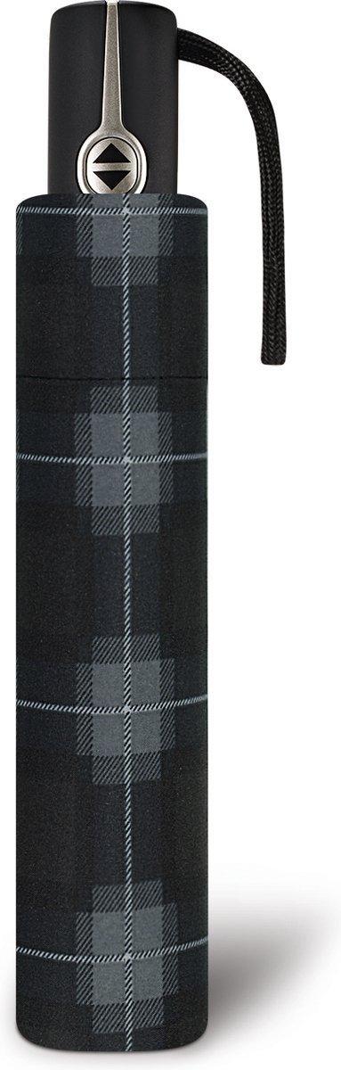 Parasol automatyczny Easymatic Pierre Cardin Voltaire czarna kratka