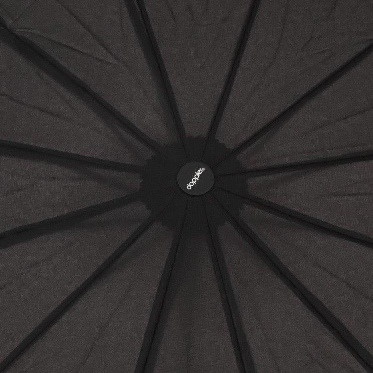 Parasol automatyczny Fiber Magic Major Doppler czarny