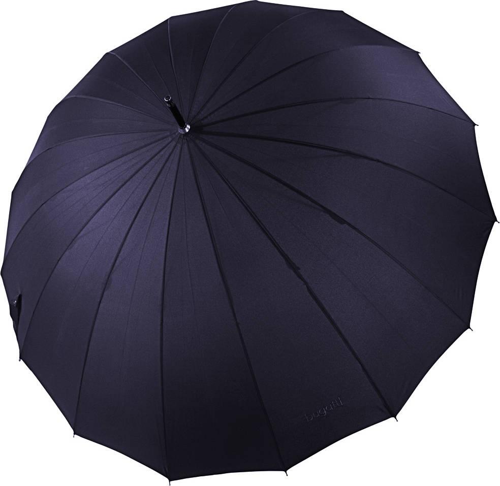 Parasol długi Doorman Bugatti granatowy