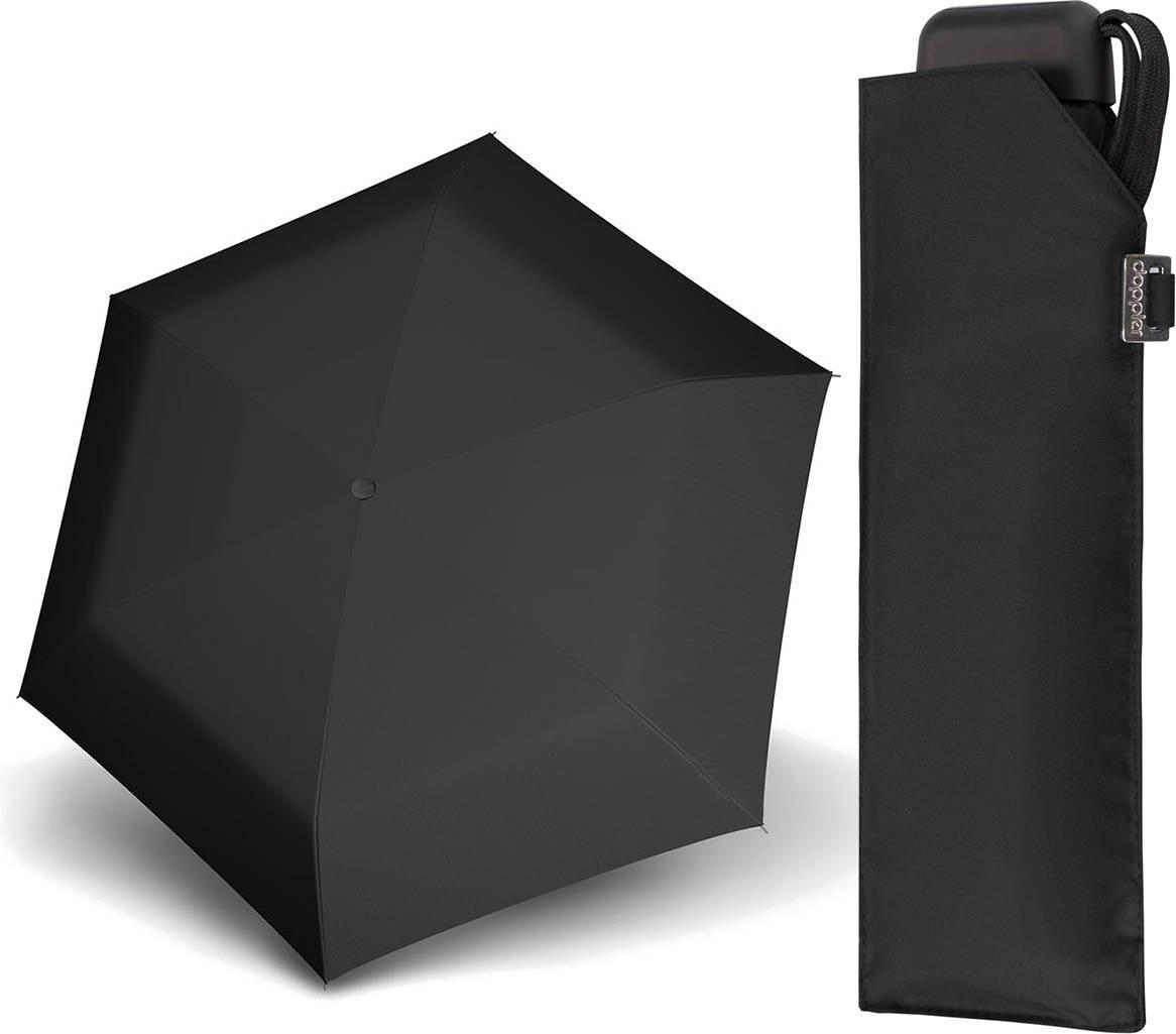 Parasol kieszonkowy Carbonsteel Mini Slim Doppler full black
