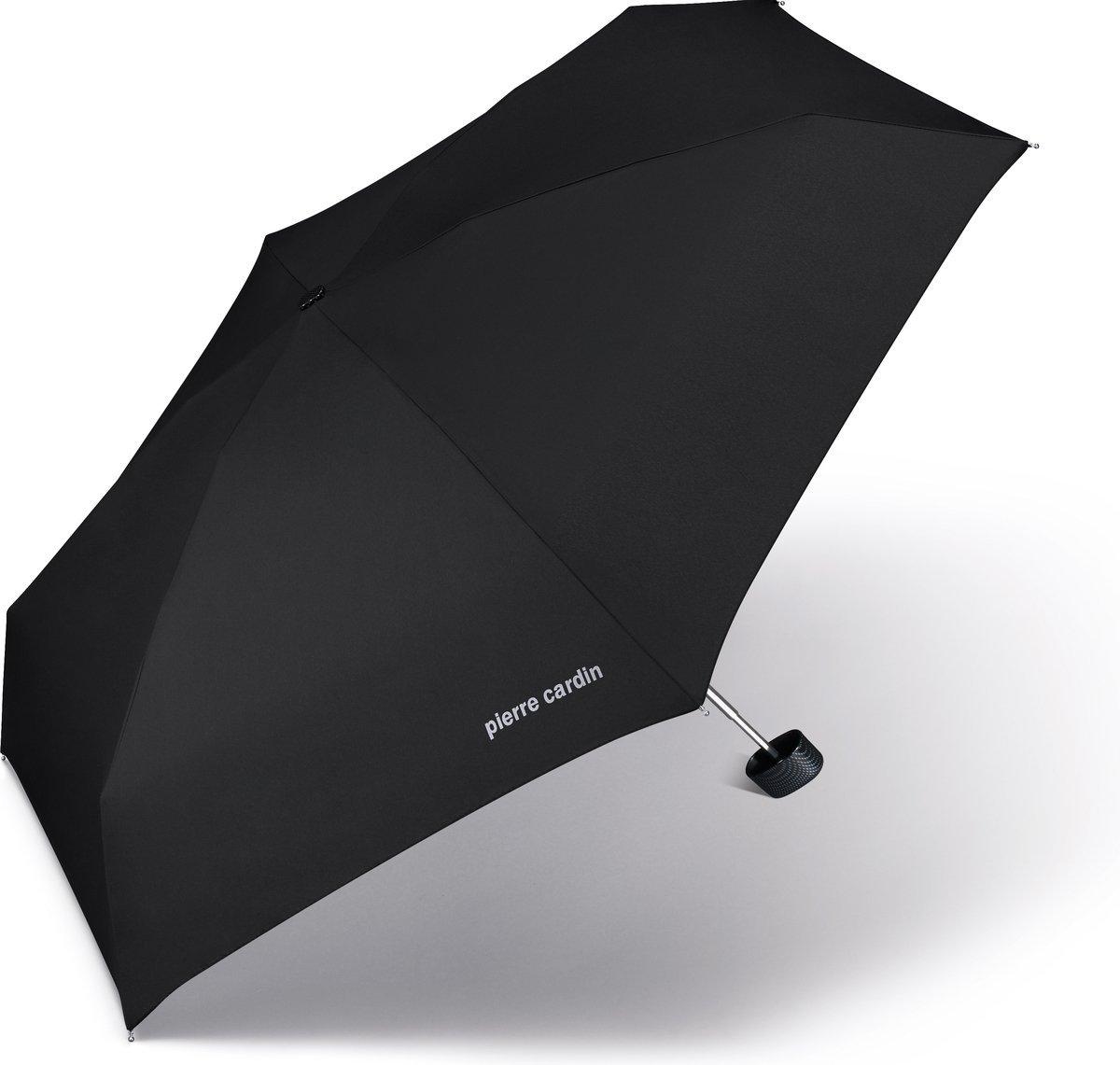 Parasol kieszonkowy Mybrella Carbon Pierre Cardin Noire carbonowy