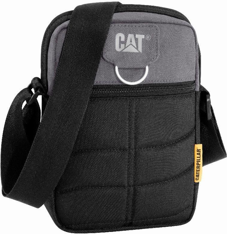 Torba Rodney CAT Caterpillar czarno-szary