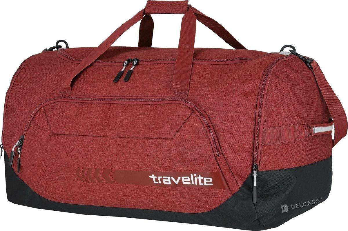 Torba sportowa Travelite Kick Off XL czerwona
