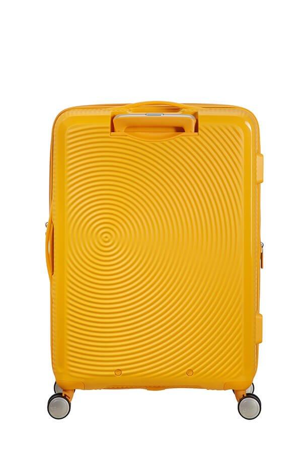 Walizka American Tourister Soundbox 67 cm powiększana żółta