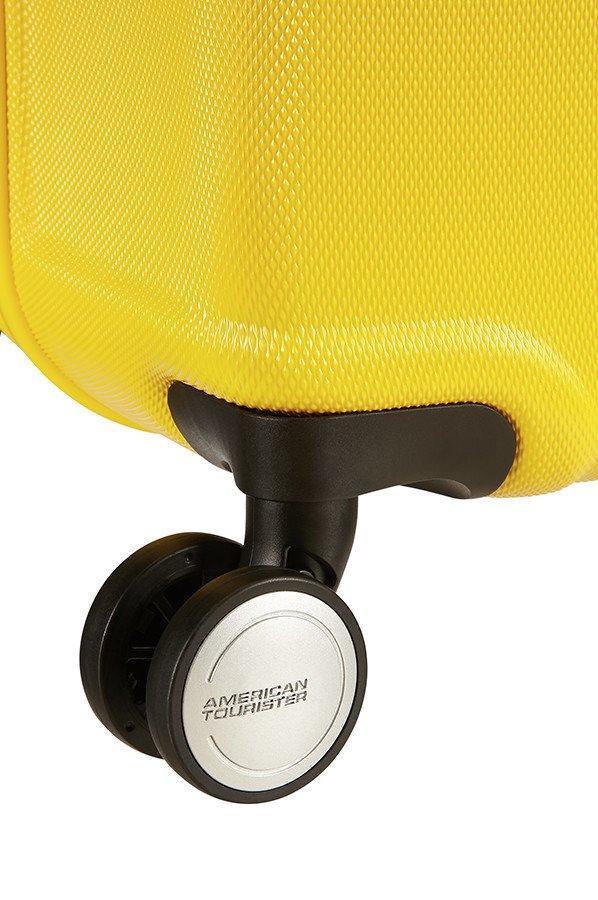 Walizka American Tourister Wavebreaker 55 cm żółta