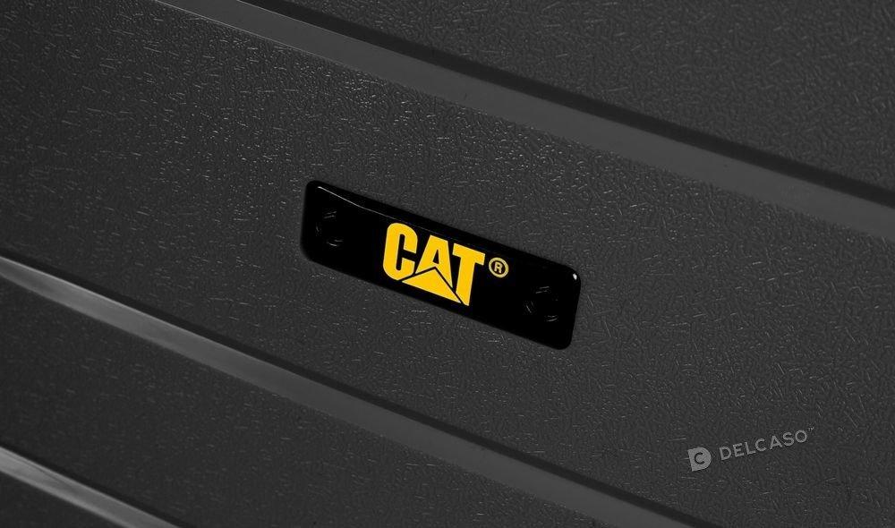 Walizka duża Cat Caterpillar Crosscheck 78 cm czarna