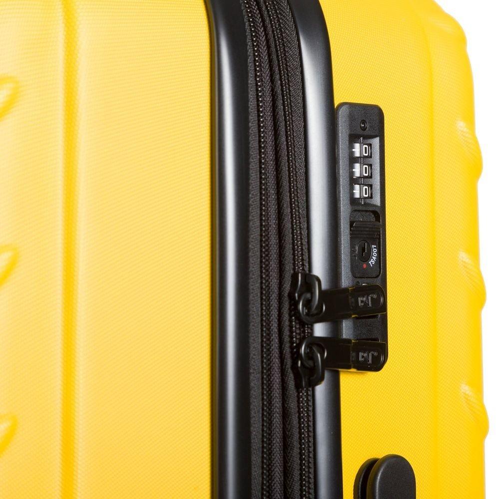 Walizka duża Cat Caterpillar Industrial Plate 74,5 cm żółta