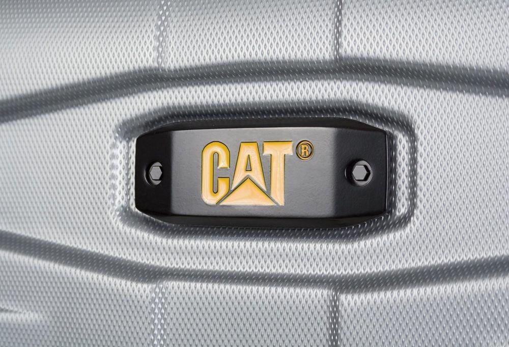 Walizka duża Cat Caterpillar Tank 78 cm szara