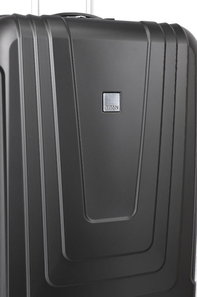 Walizka duża Titan X-Ray Atomic 77 cm czarna