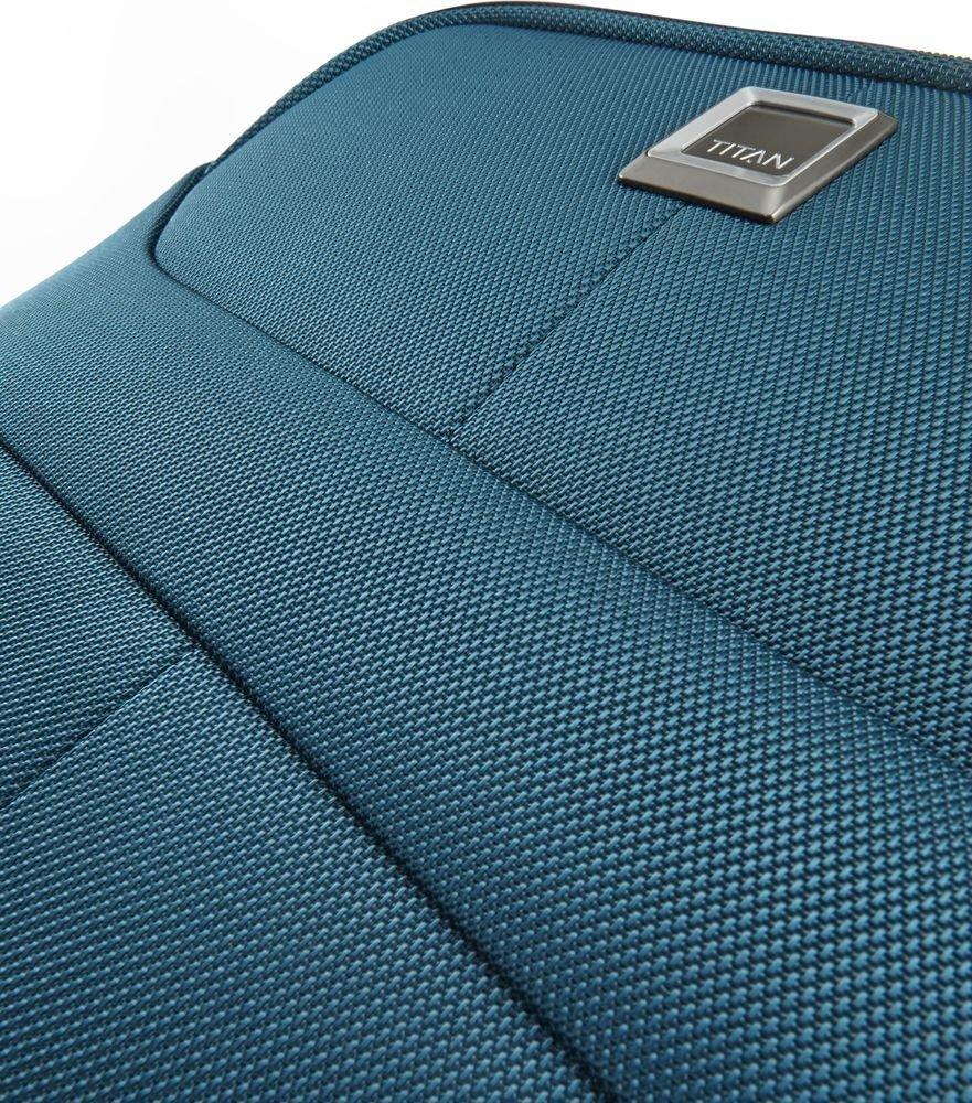 Walizka duża - poszerzana Titan Nonstop 79 cm niebieska