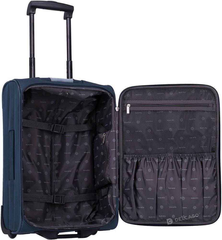 Walizka kabinowa 2-kółkowa Travelite Orlando 53 cm mała niebieska