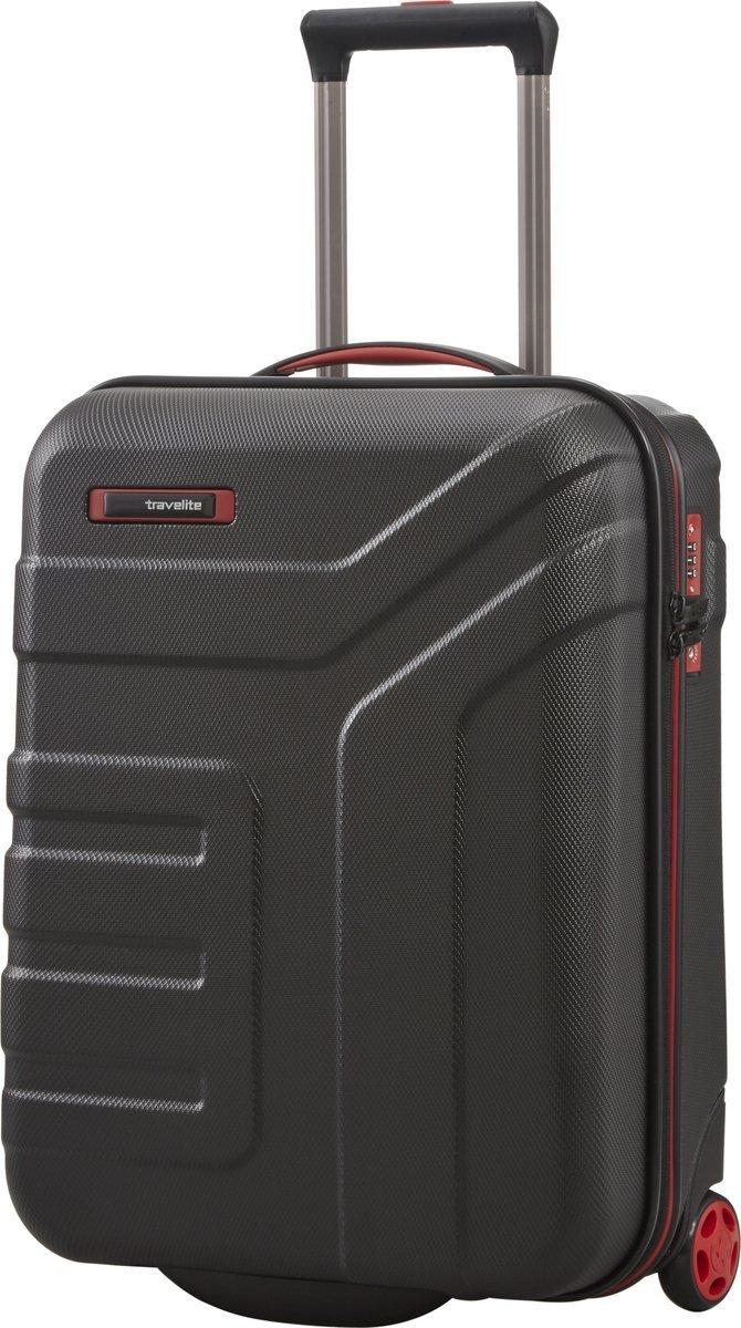Walizka kabinowa 2K Travelite Vector 55 cm mała czarna
