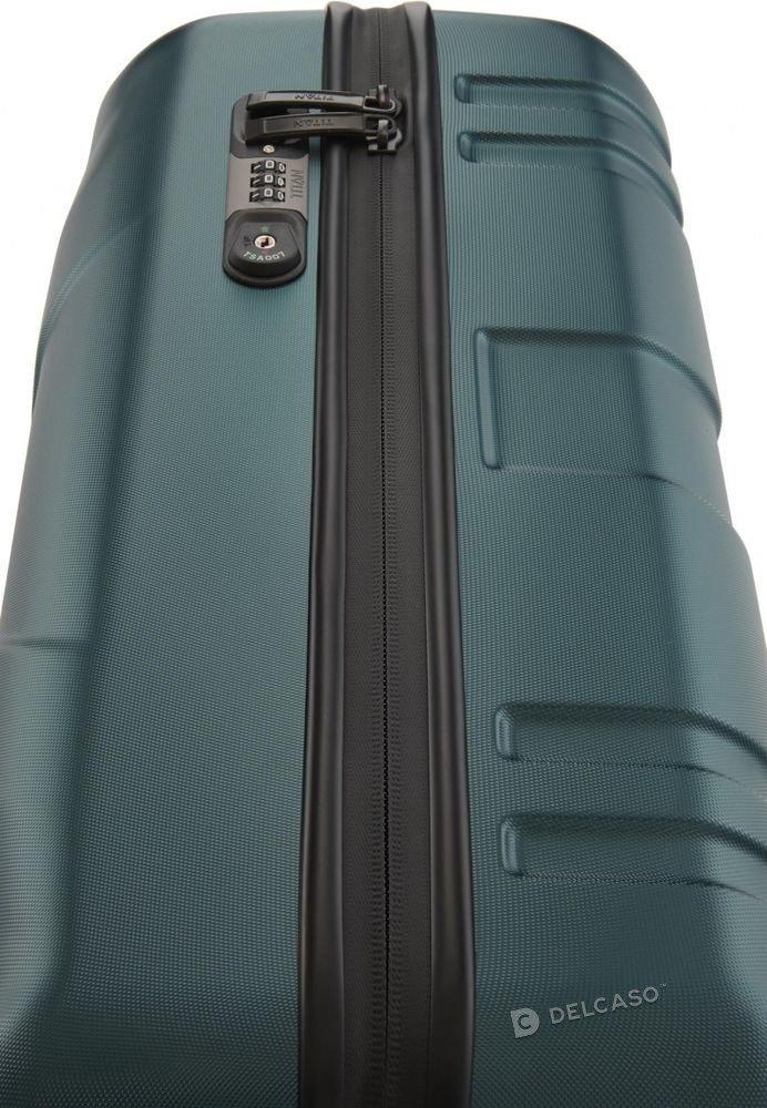 Walizka kabinowa Prior Smart Skin 55 cm mała zielona