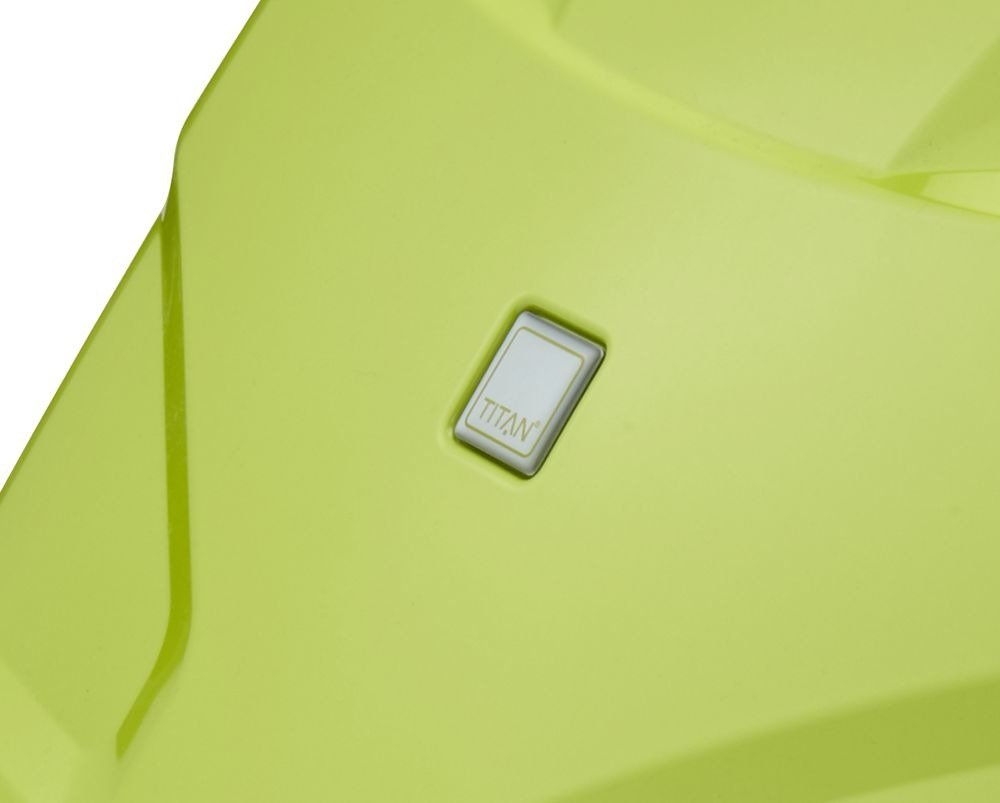 Walizka kabinowa Titan X2 Flash 55 cm mała limonkowa