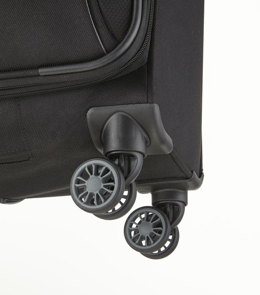 Walizka kabinowa Travelite Capri 55 cm mała czarna