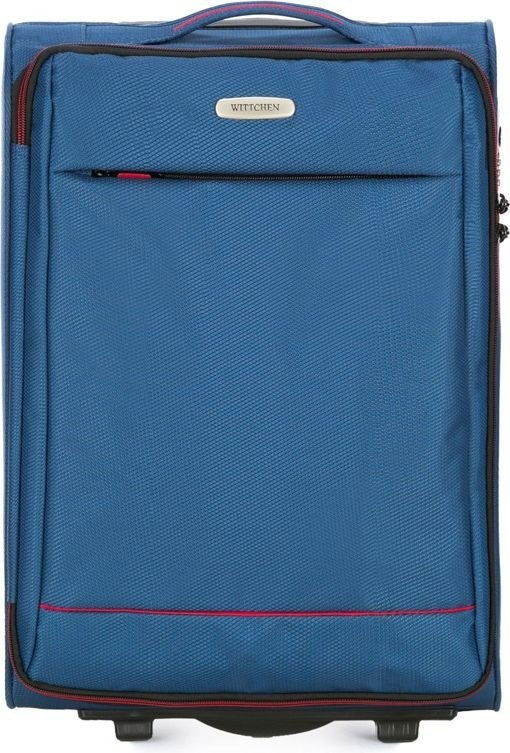 Walizka kabinowa Wittchen Bon Voyage 54 cm mała niebieska