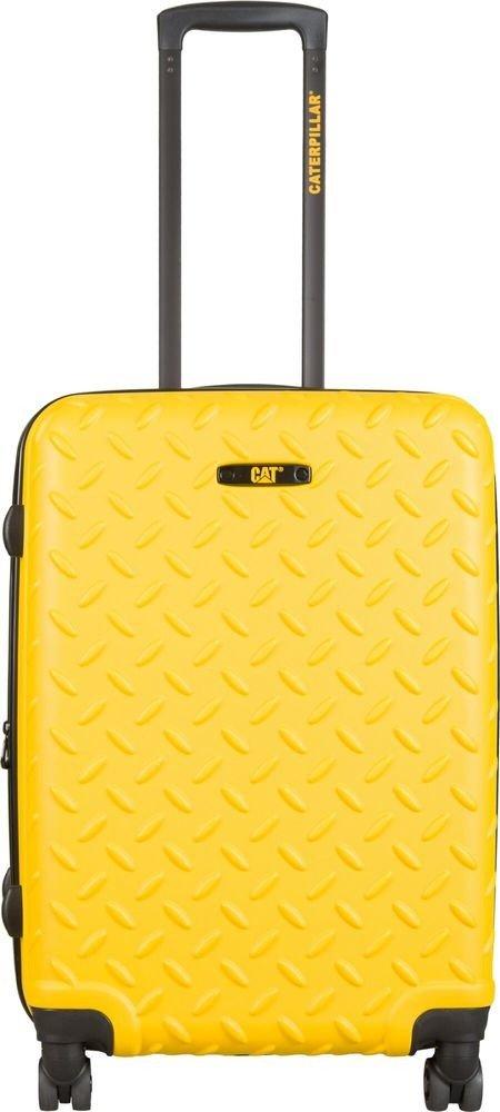 Walizka średnia Cat Caterpillar Industrial Plate 65 cm żółta