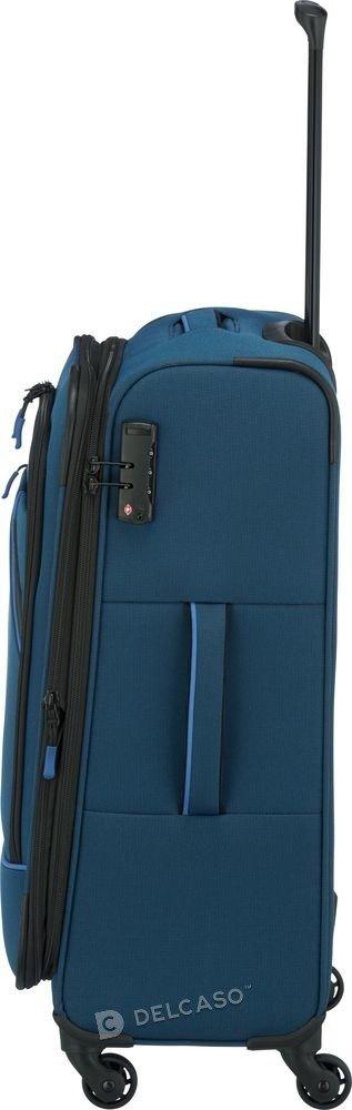 Walizka średnia Travelite Derby 66 cm niebieska