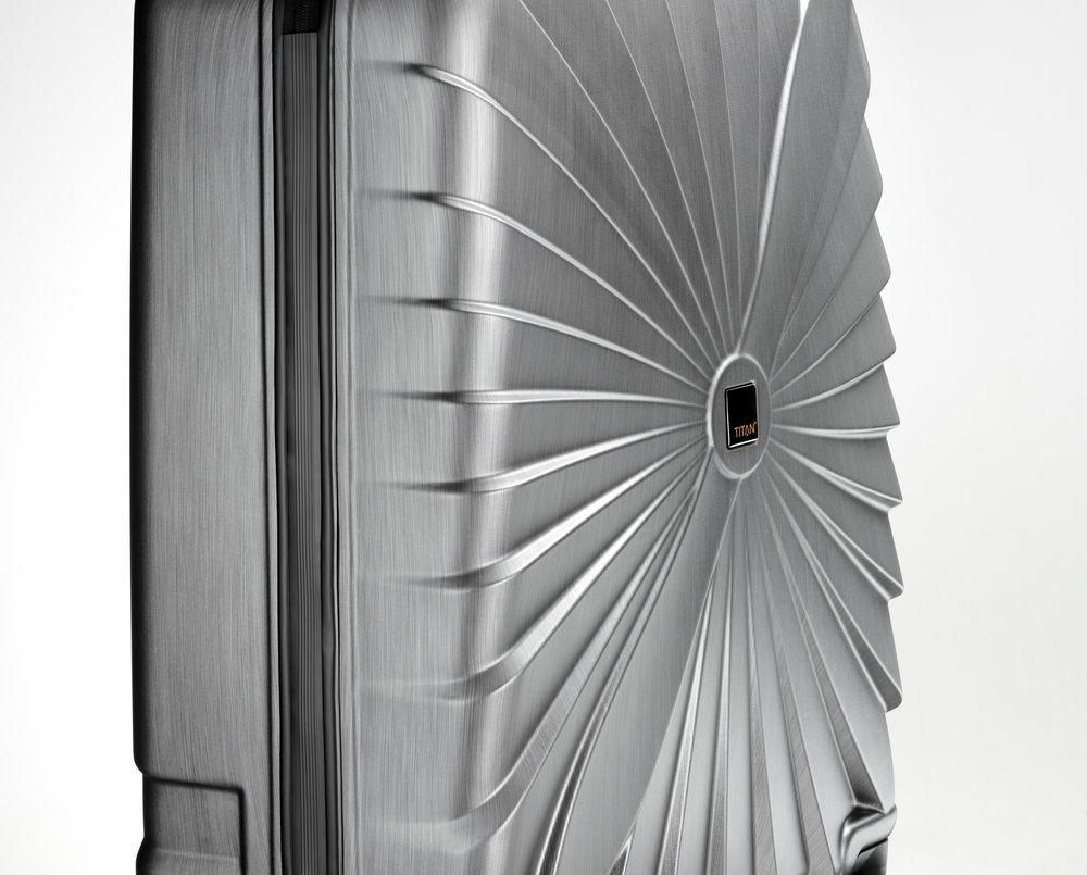 Walizka średnia Triport 65 cm antracytowa