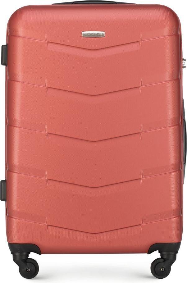 Walizka średnia Wittchen Arrow Line 67 cm czerwona