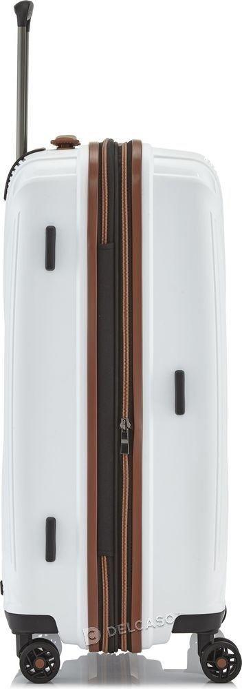 Walizka średnia - poszerzana Titan Paradoxx 68 cm biała