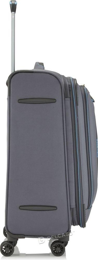 Walizka średnia poszerzana Travelite CrossLite 67 cm antracytowa