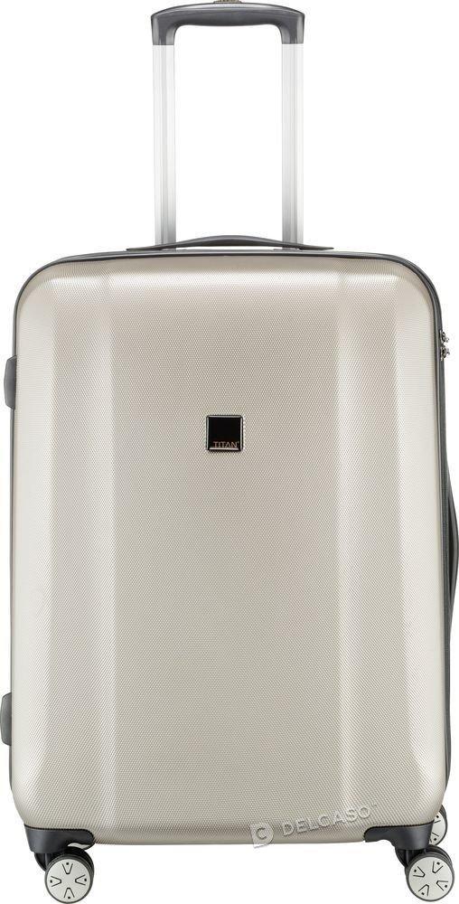 Walizka średnia - powiększona Titan Xenon 71 cm szampańska