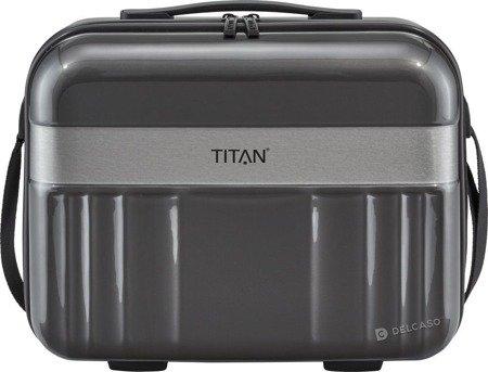 Kuferek / kosmetyczka Titan Spotlight Flash czarna