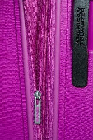Walizka American Tourister Sunside 68 cm powiększana fioletowa